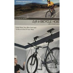 MAMMOTH PRECISION TOOLS Lift It Bicycle Hoist